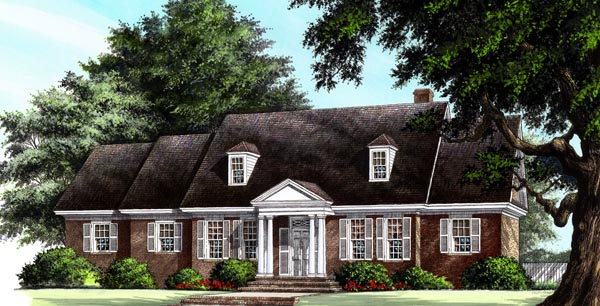 Traditional House Plan 86303 Elevation