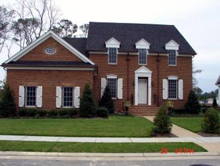 Traditional House Plan 86310 with 4 Beds, 4 Baths, 2 Car Garage Picture 1