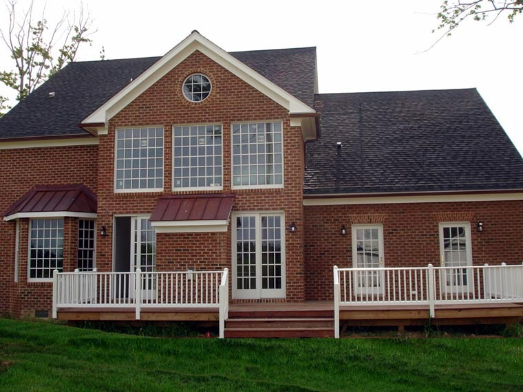 Traditional House Plan 86310 with 4 Beds, 4 Baths, 2 Car Garage Picture 3