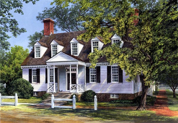 Colonial Traditional House Plan 86322 Elevation