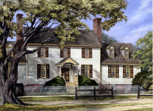 Colonial Plantation Traditional House Plan 86336 Elevation