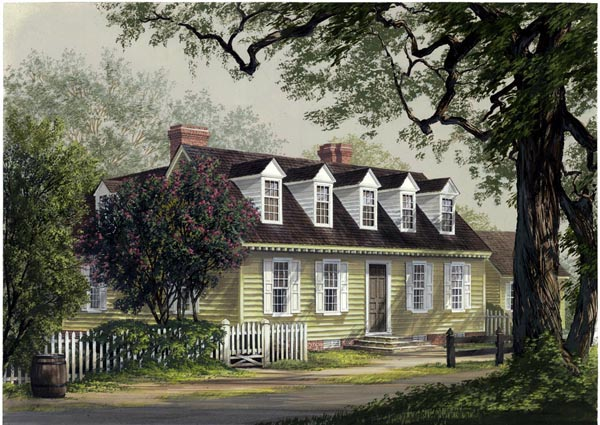 Colonial Traditional House Plan 86339 Elevation
