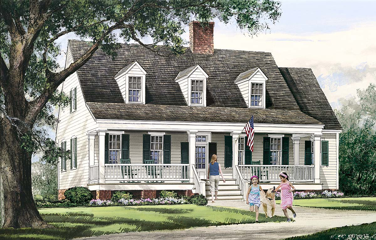 House Plan 86354