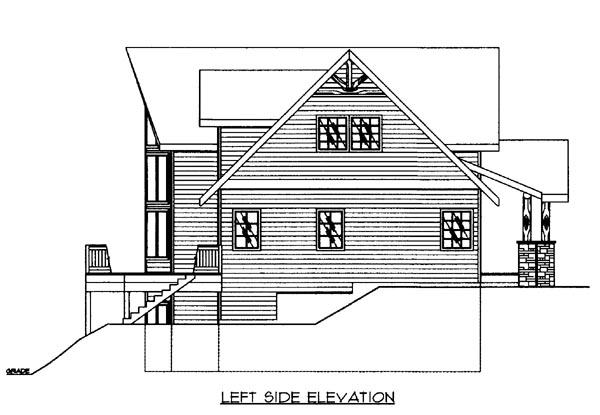 House Plan 86502 with 3 Beds, 3 Baths, 3 Car Garage Picture 1