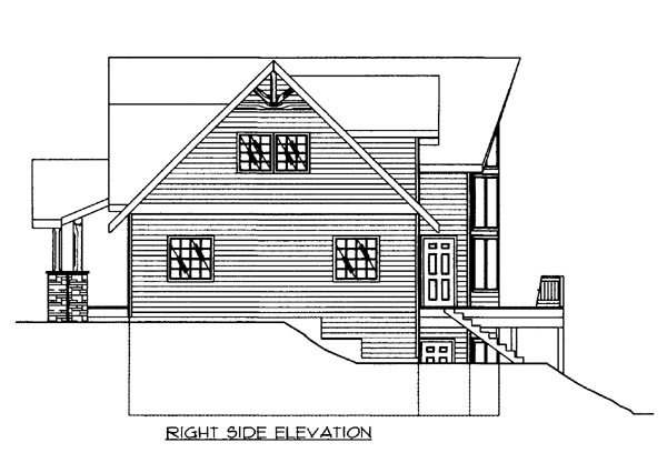House Plan 86502 with 3 Beds, 3 Baths, 3 Car Garage Picture 2