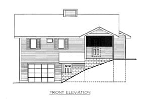 House Plan 86506 Elevation