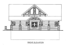 House Plan 86513 | Style Plan with 2281 Sq Ft, 3 Bedrooms, 3 Bathrooms Elevation