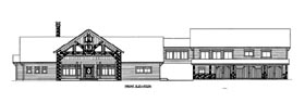 House Plan 86516 with 4 Beds, 5 Baths, 4 Car Garage Elevation