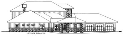 House Plan 86520 with 2 Beds, 5 Baths, 3 Car Garage Picture 1