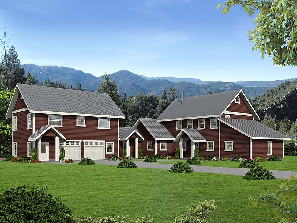 House Plan 86522 Elevation
