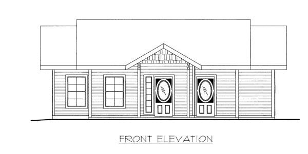 House Plan 86524