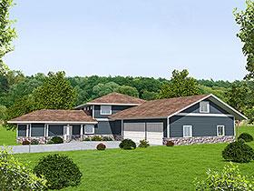 House Plan 86525 Elevation