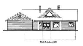 House Plan 86530 Elevation