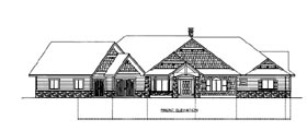 House Plan 86531 Elevation