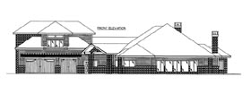House Plan 86535 | Style Plan with 4479 Sq Ft, 2 Bedrooms, 4 Bathrooms, 5 Car Garage Elevation