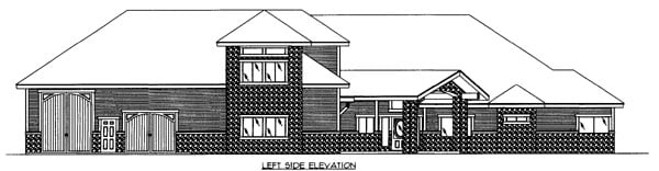 House Plan 86535 with 2 Beds, 4 Baths, 5 Car Garage Picture 2