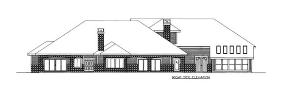 House Plan 86535 with 2 Beds, 4 Baths, 5 Car Garage Picture 1