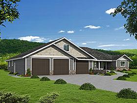House Plan 86542 Elevation