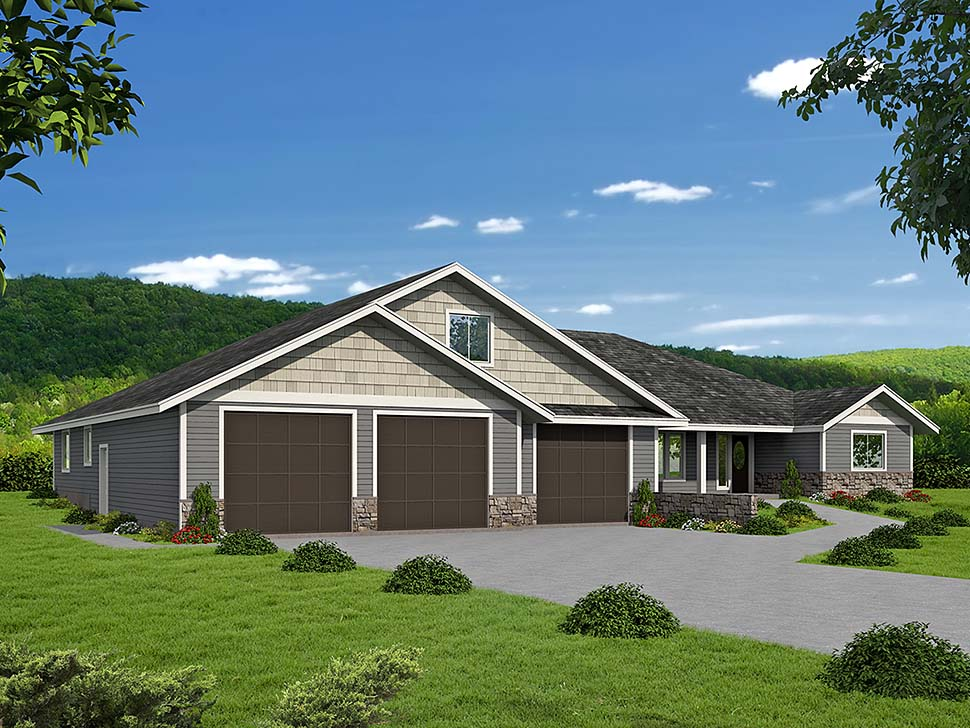 House Plan 86542 Elevation