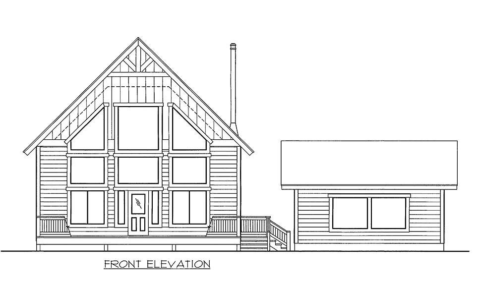 House Plan 86543 with 2 Beds, 3 Baths Picture 2