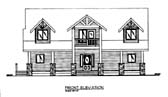 Plan Number 86551 - 2605 Square Feet