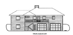 House Plan 86560 Elevation