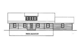 House Plan 86561 Elevation