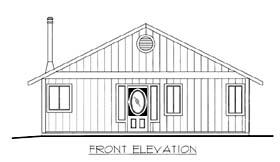 House Plan 86562 Elevation