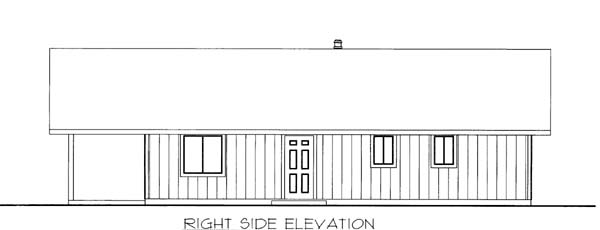House Plan 86562 with 2 Beds, 1 Baths Picture 1
