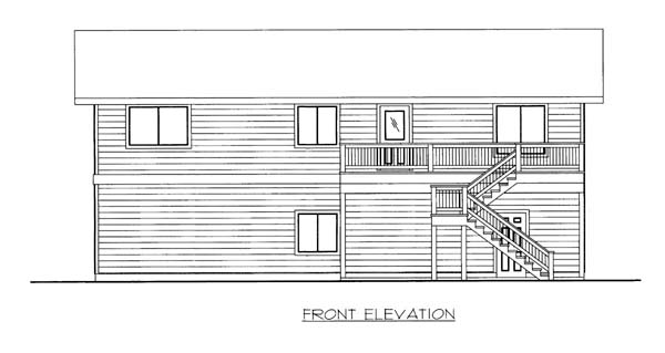 Garage Plan 86563 Elevation