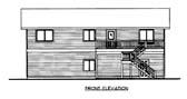 Plan Number 86563 - 1200 Square Feet