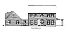 Traditional House Plan 86567 Elevation