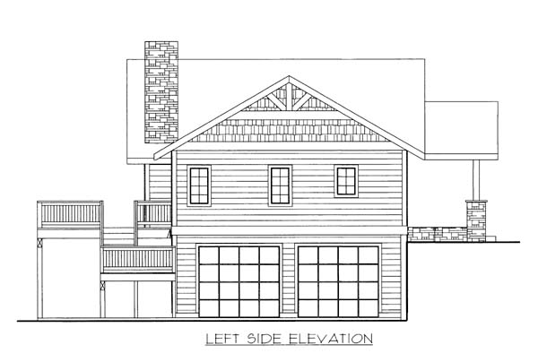 House Plan 86569 with 3 Beds, 3 Baths, 2 Car Garage Picture 1
