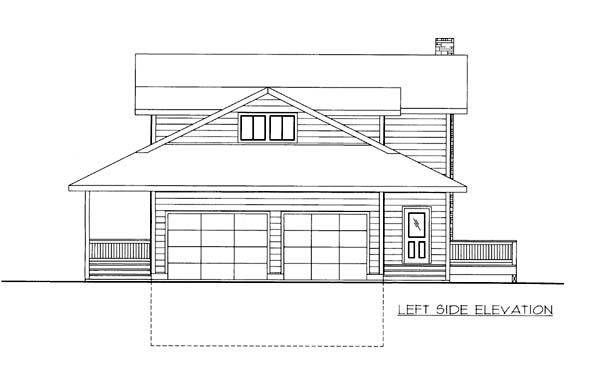 House Plan 86570 with 5 Beds, 4 Baths, 2 Car Garage Picture 1