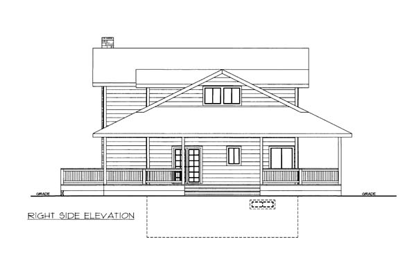 House Plan 86570 with 5 Beds, 4 Baths, 2 Car Garage Picture 2