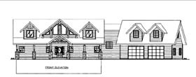 House Plan 86573 Elevation