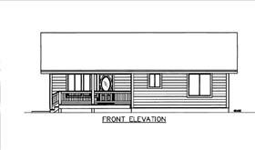 House Plan 86574