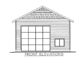 Garage Plan 86583
