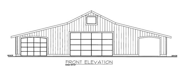 Garage Plan 86586