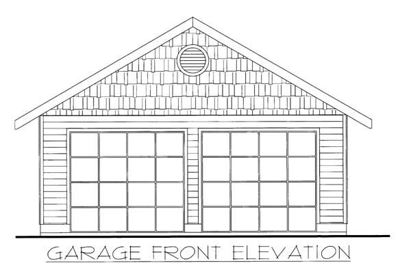 Garage Plan 86587