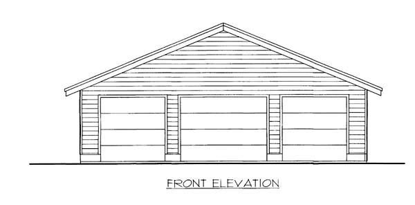 Garage Plan 86592