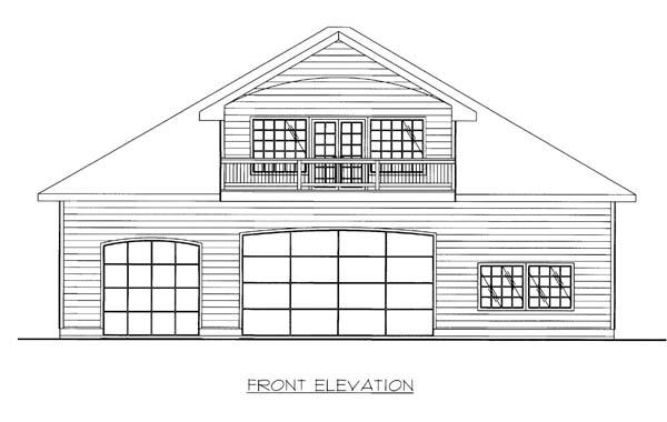 Garage Plan 86593