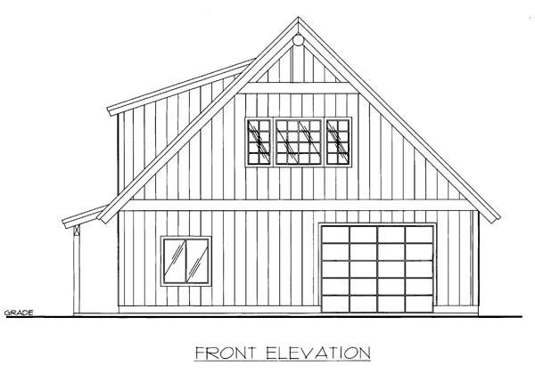 Garage Plan 86594