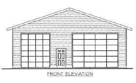 Garage Plan 86595