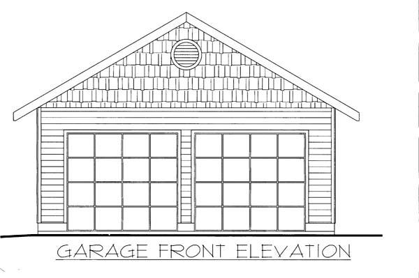 Garage Plan 86596