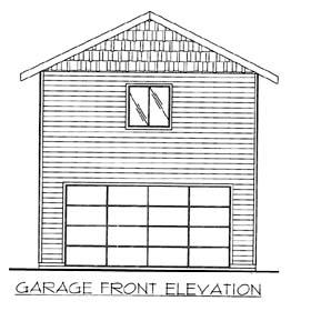 Garage Plan 86597