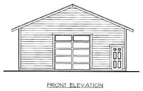 Garage Plan 86598
