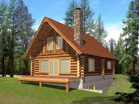 House Plan 86603 Elevation