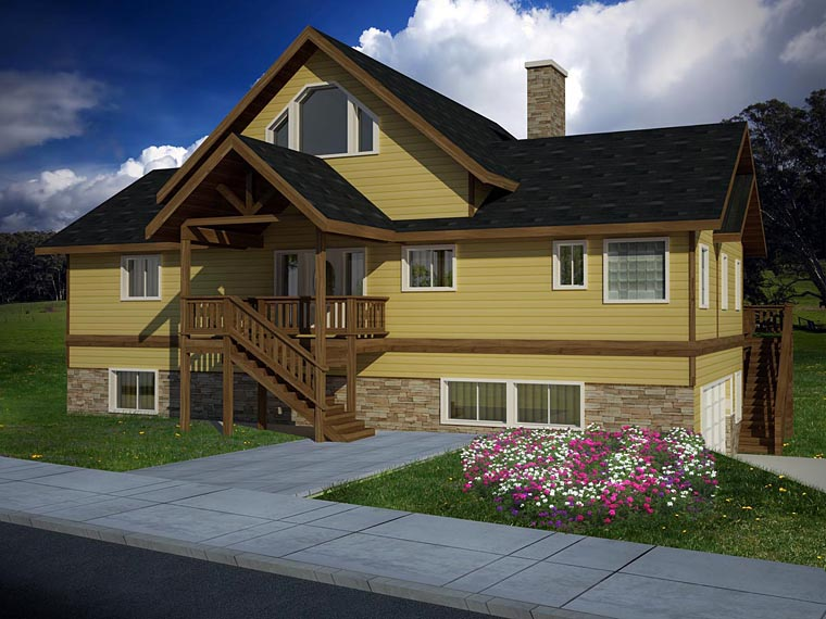 Coastal House Plan 86611 Elevation