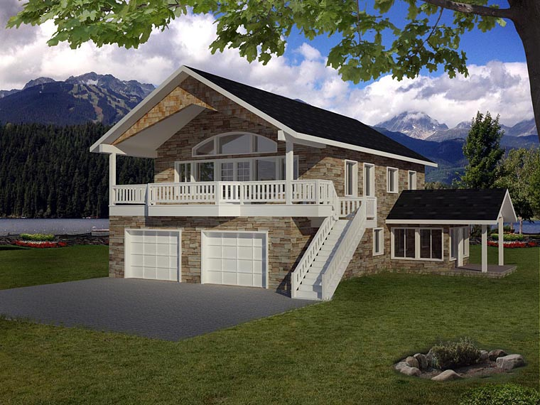 House Plan 86612 Elevation